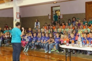 KLBB - Burwell Elementary - Trash Rap contest 11212014 2